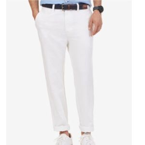 Nautica Men's Flat Front Pants. B014